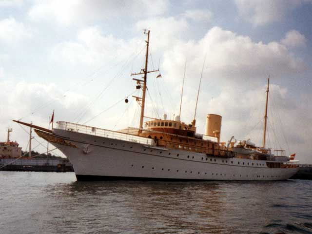 The Queen's Yacht
