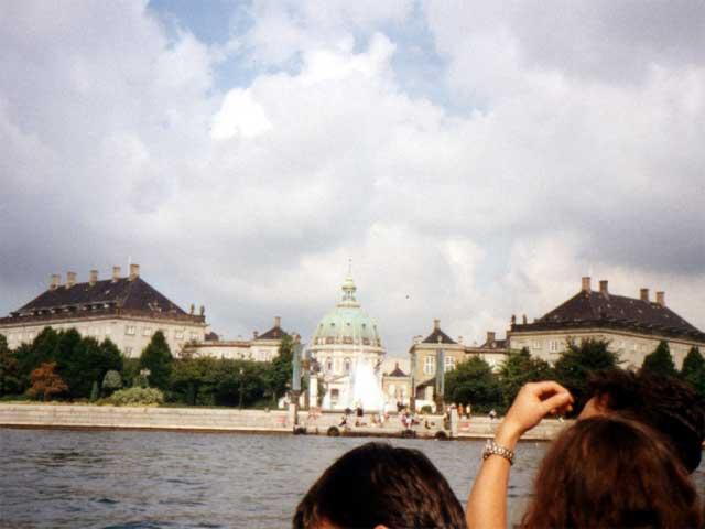 Wossname Castle, Amalienborg, I think