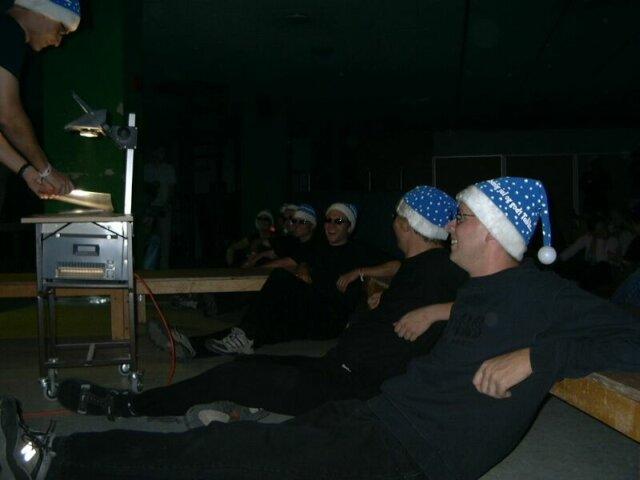 OC watching the plenary
