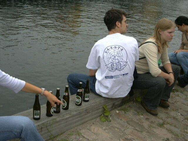 Quiet little beer at Nyhavn