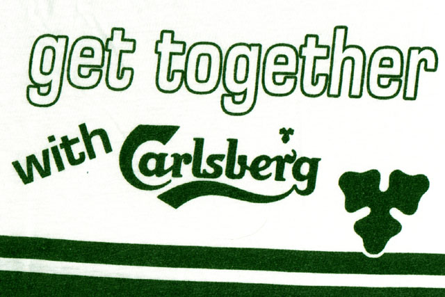 Also persistent was the idea of a GTG T-shirt, though this one, sponsored by Carlsberg, was just a lousy rip-off of the 1993 T-shirt