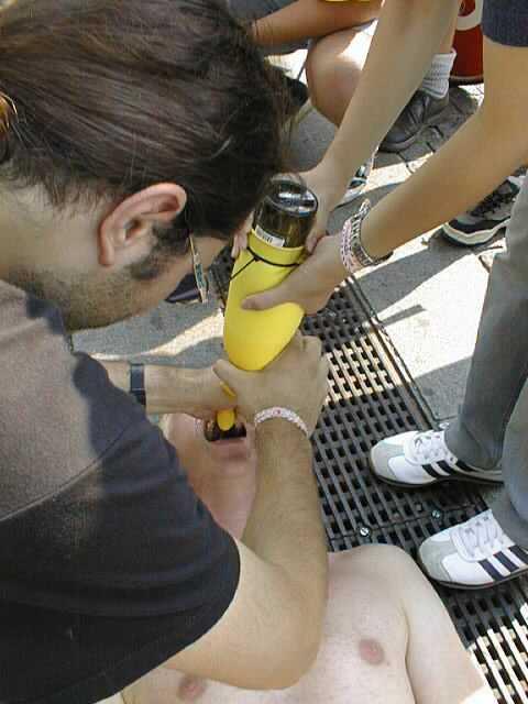 Milking a Beer